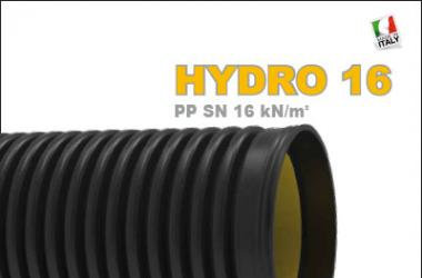 CONDOTTE DI SCARICO INTERRATE IN POLIPROPILENE SN16
